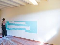 muurschildering kantoor