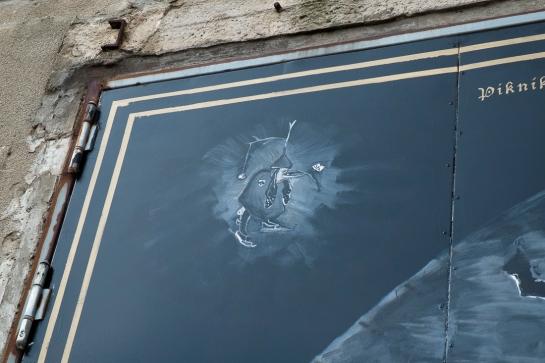 muurschildering buiten